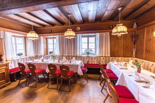 Frühstück, Halbpension in der Stube - Pension Gasthof Waldherr Untertauern